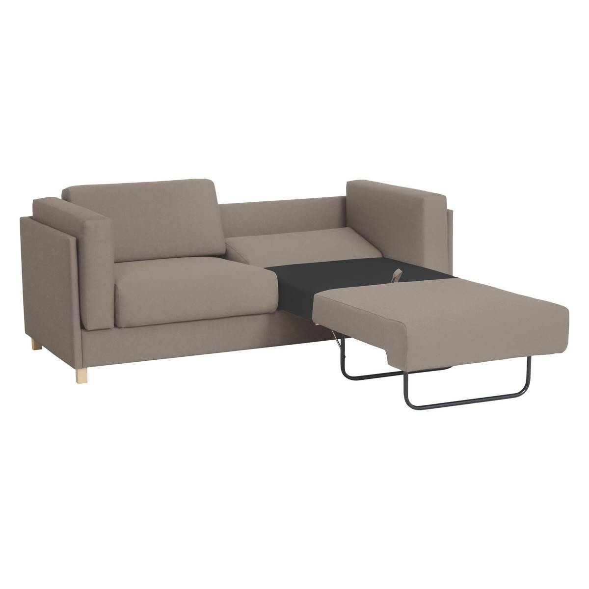 Colombo Natural Fabric 3 Seater Sofa Bed | Buy Now At Habitat Uk in 3 Seater Sofas for Sale (Image 6 of 30)