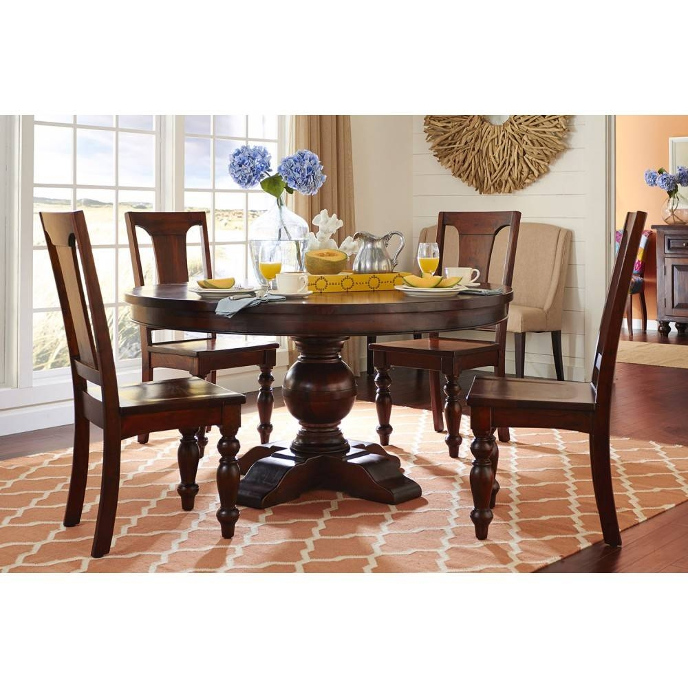 Colonial Plantation Round Dining Sethome Trend & Design within Colonial Coffee Tables (Image 13 of 30)