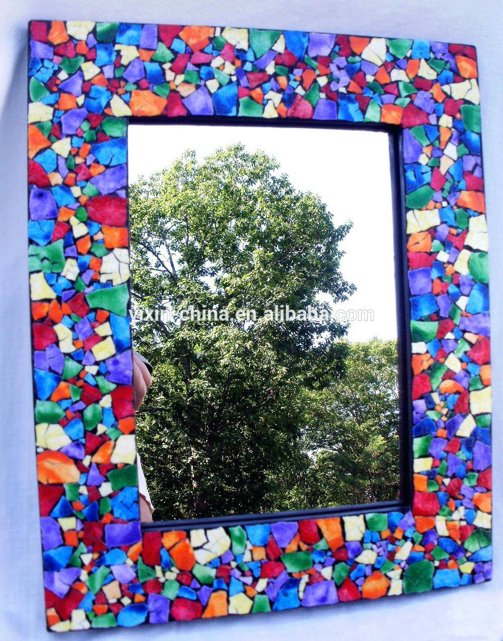 Colorful Wall Mirror – Shopwiz regarding Bright Coloured Mirrors (Image 18 of 25)