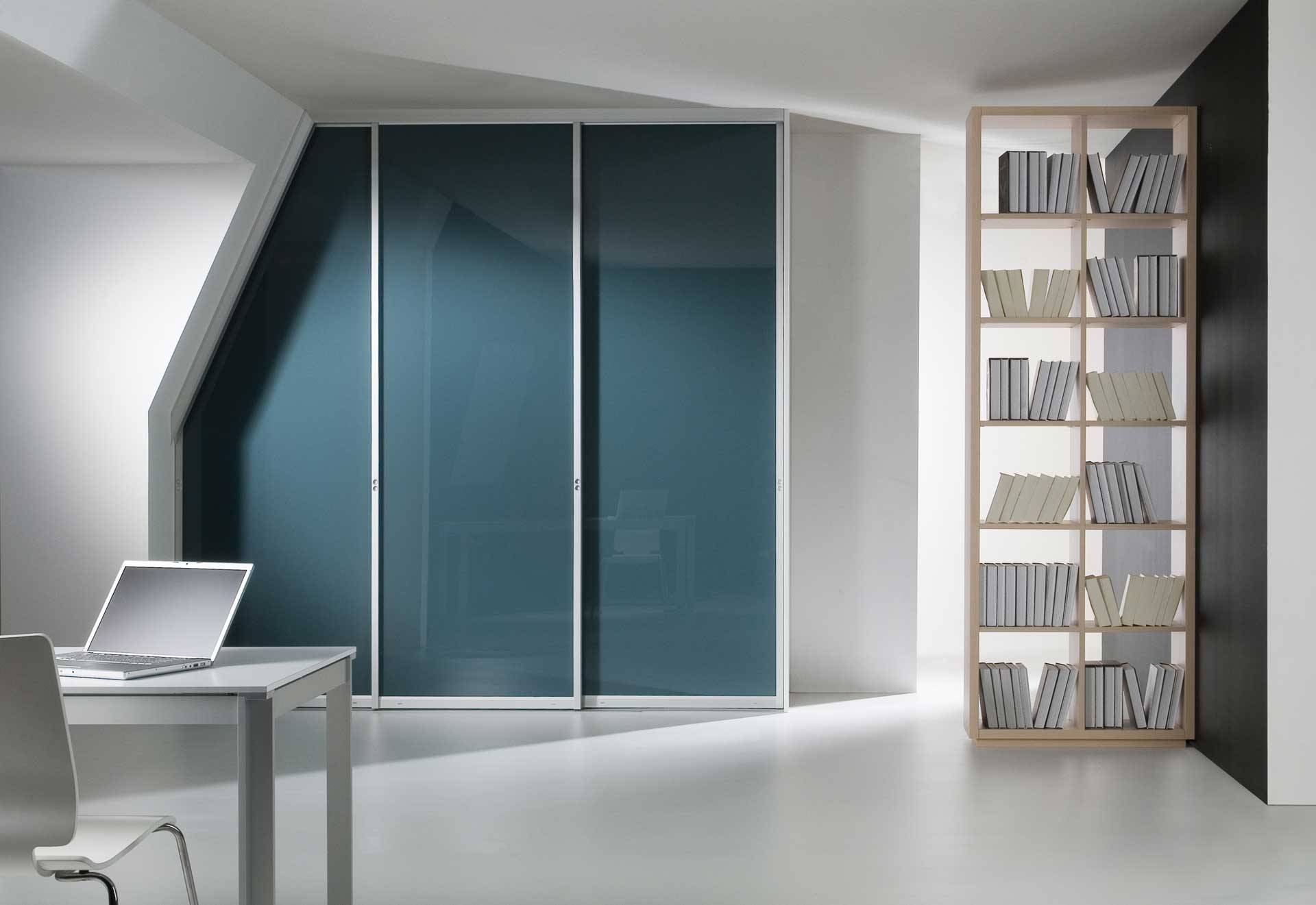 Coloured Glass Wardrobe Doors regarding Coloured Wardrobes (Image 7 of 15)