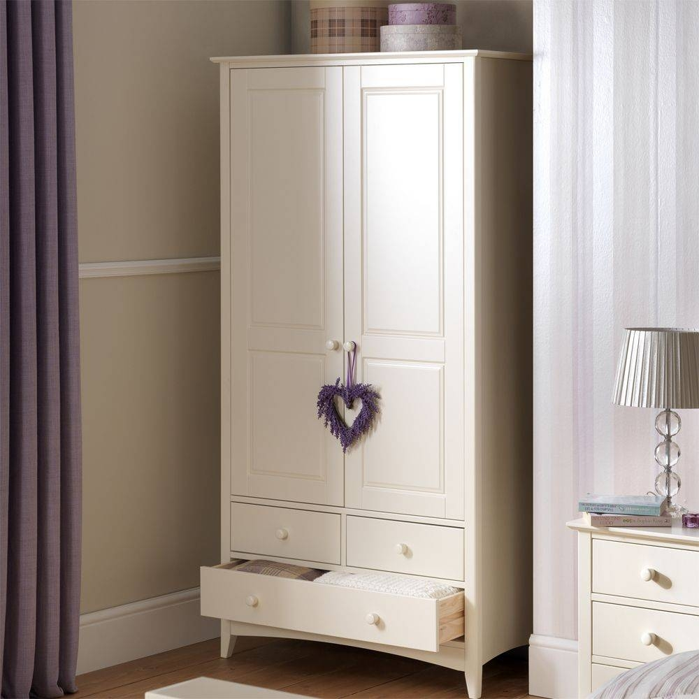 Combination Wardrobe With 3 Drawers | Cameo with regard to White Wardrobes With Drawers (Image 2 of 15)