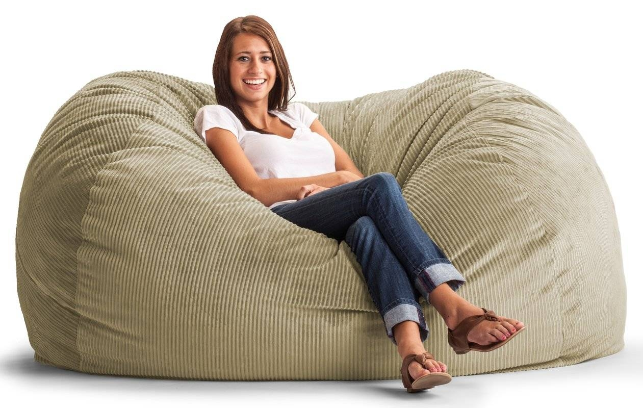 Comfort Research Fuf Bean Bag Chair & Reviews | Wayfair intended for Bean Bag Sofa Chairs (Image 7 of 15)