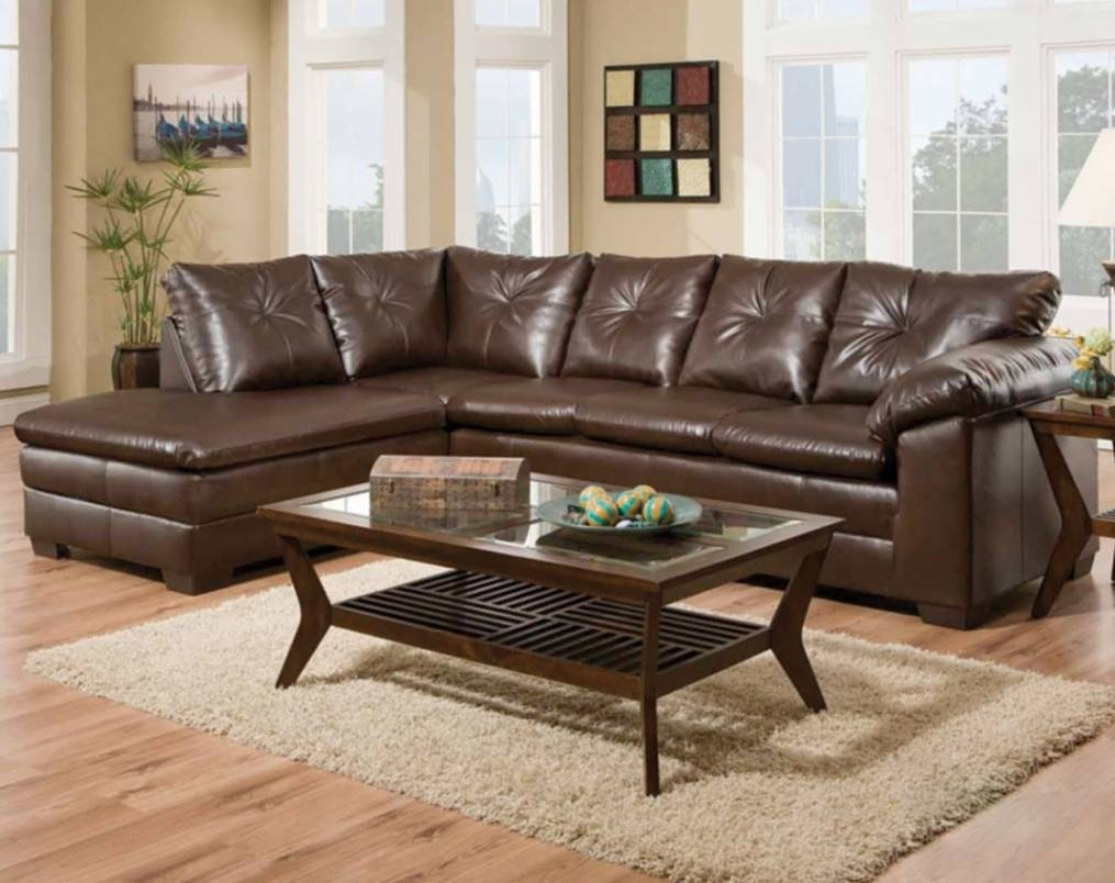 Comfortable Brown Couch | Freeport Brown 2-Piece Sectional Sofa regarding Comfortable Sectional Sofa (Image 9 of 30)