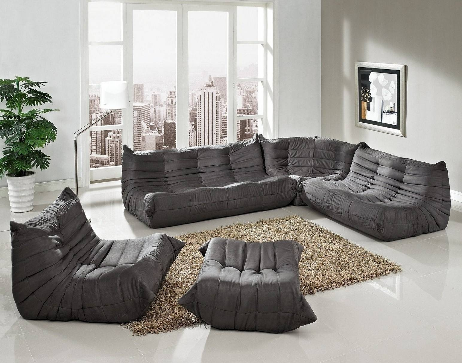 Comfortable Floor Couch For Sweet Home inside Comfortable Floor Seating (Image 13 of 30)