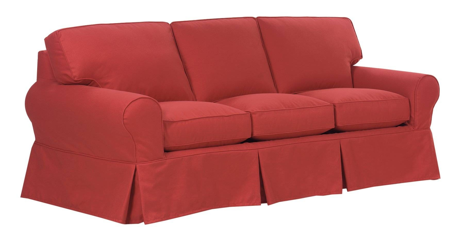 Comfortable Slipcovered Furniture, Slipcover Sofas, Couches Throughout Slipcovers For Sofas And Chairs (View 5 of 30)