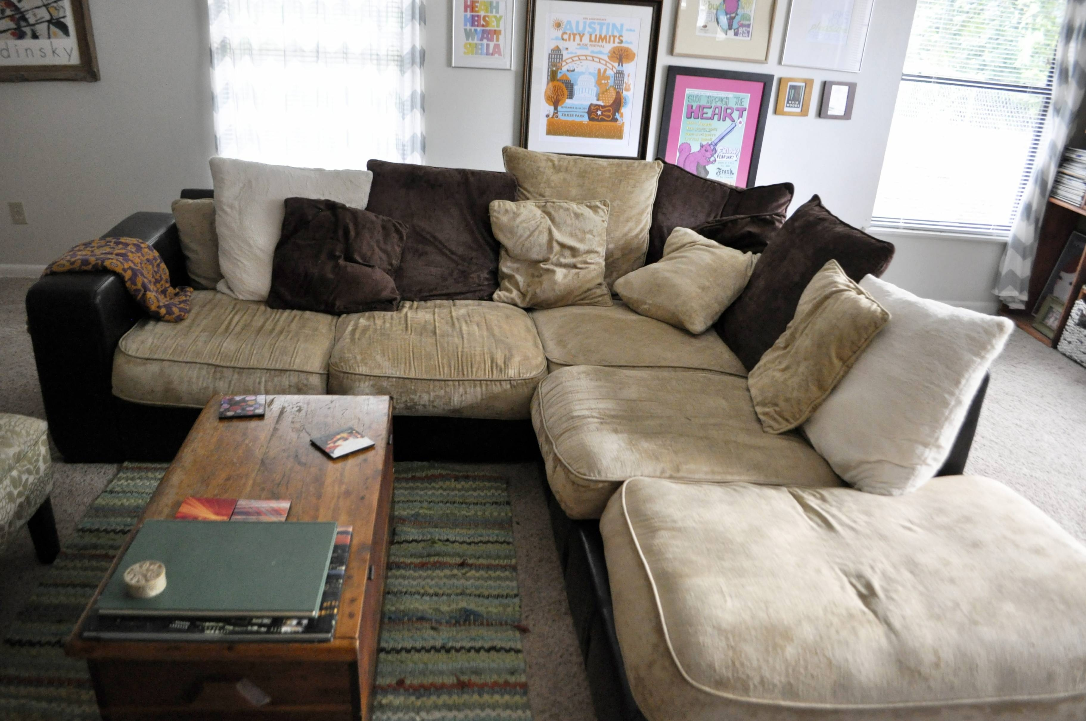Comfy Sofas - Leather Sectional Sofa for Comfy Sectional Sofa (Image 10 of 30)