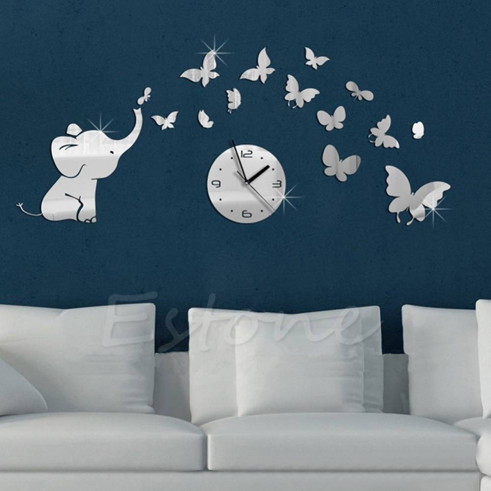 Compare Prices On Butterfly Mirrors- Online Shopping/buy Low Price throughout Butterfly Wall Mirrors (Image 6 of 25)
