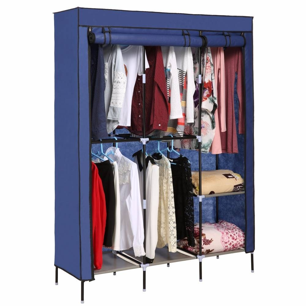 Compare Prices On Storage Wardrobe Cabinet Online Shopping/buy With Low Cost Wardrobes (View 9 of 15)