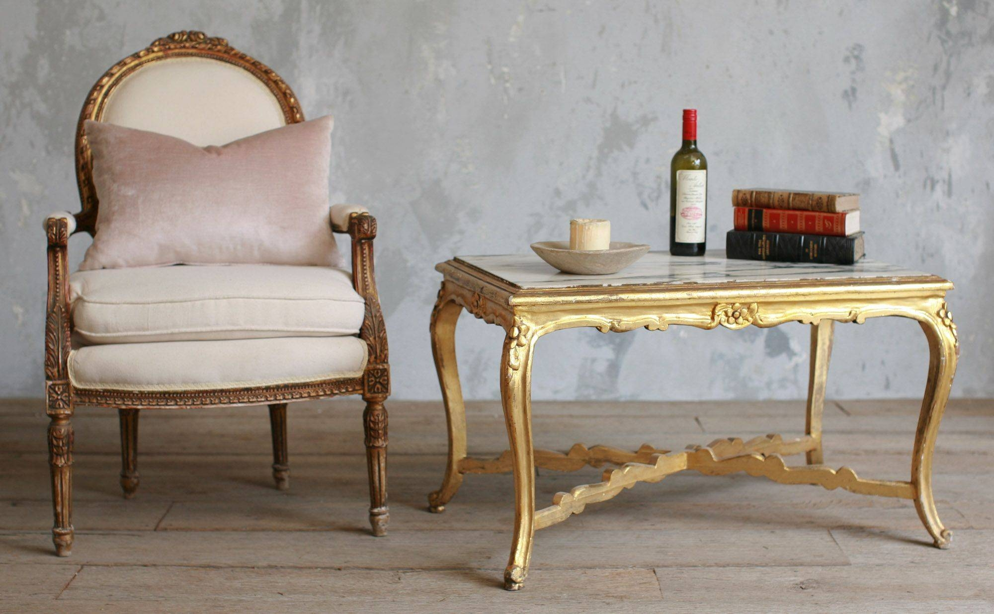 Compelling Gold Faux Bamboo Coffee Table Coffee Table Gold Coffee pertaining to Gold Bamboo Coffee Tables (Image 15 of 30)