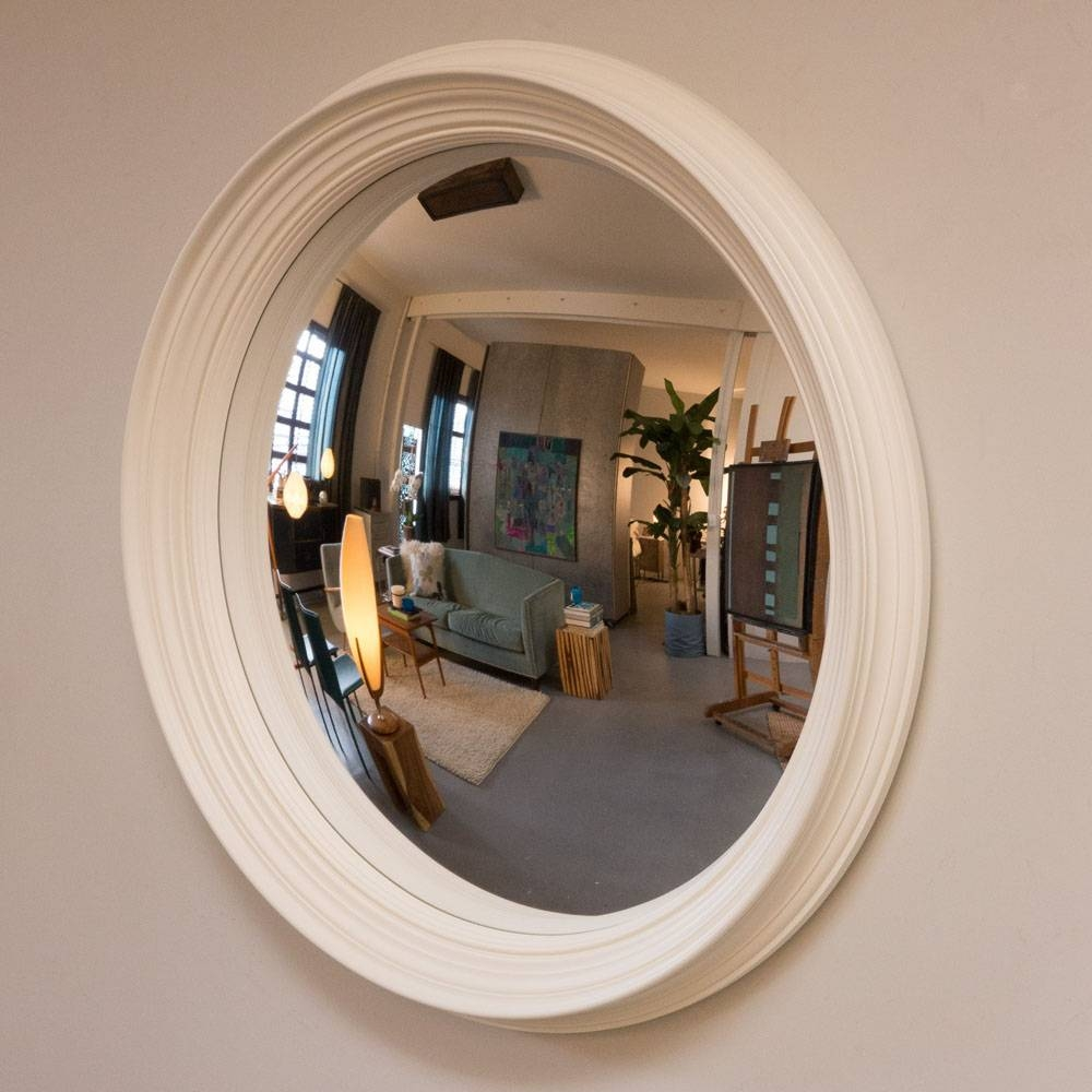 Concave Mirror For Sale 147 Inspiring Style For Convex Mirrors intended for Large Convex Mirrors (Image 4 of 25)