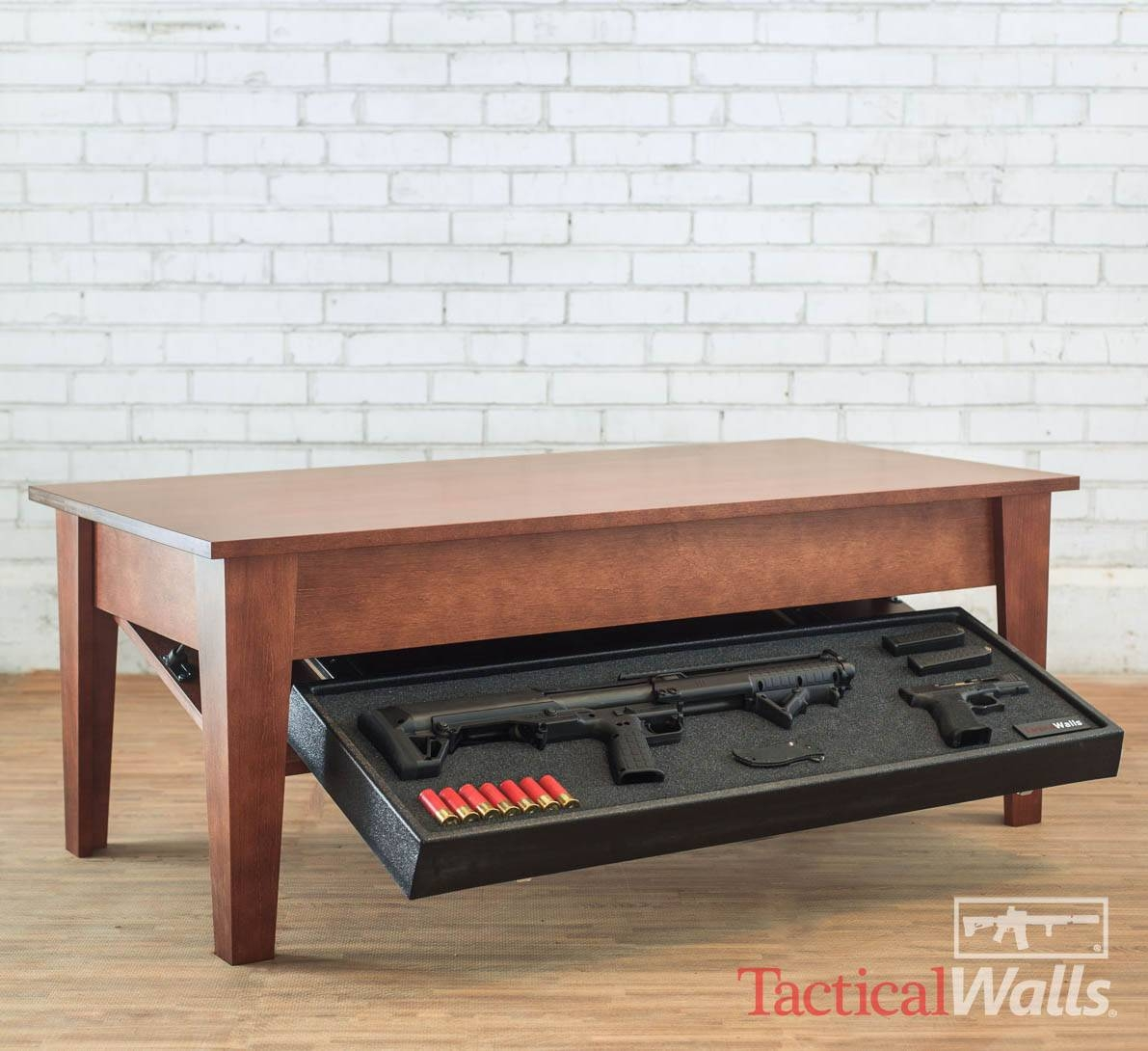 Concealment Coffee Table | Tactical Walls | Home Defense With Regard To Coffee Tables With Clock Top (View 17 of 30)
