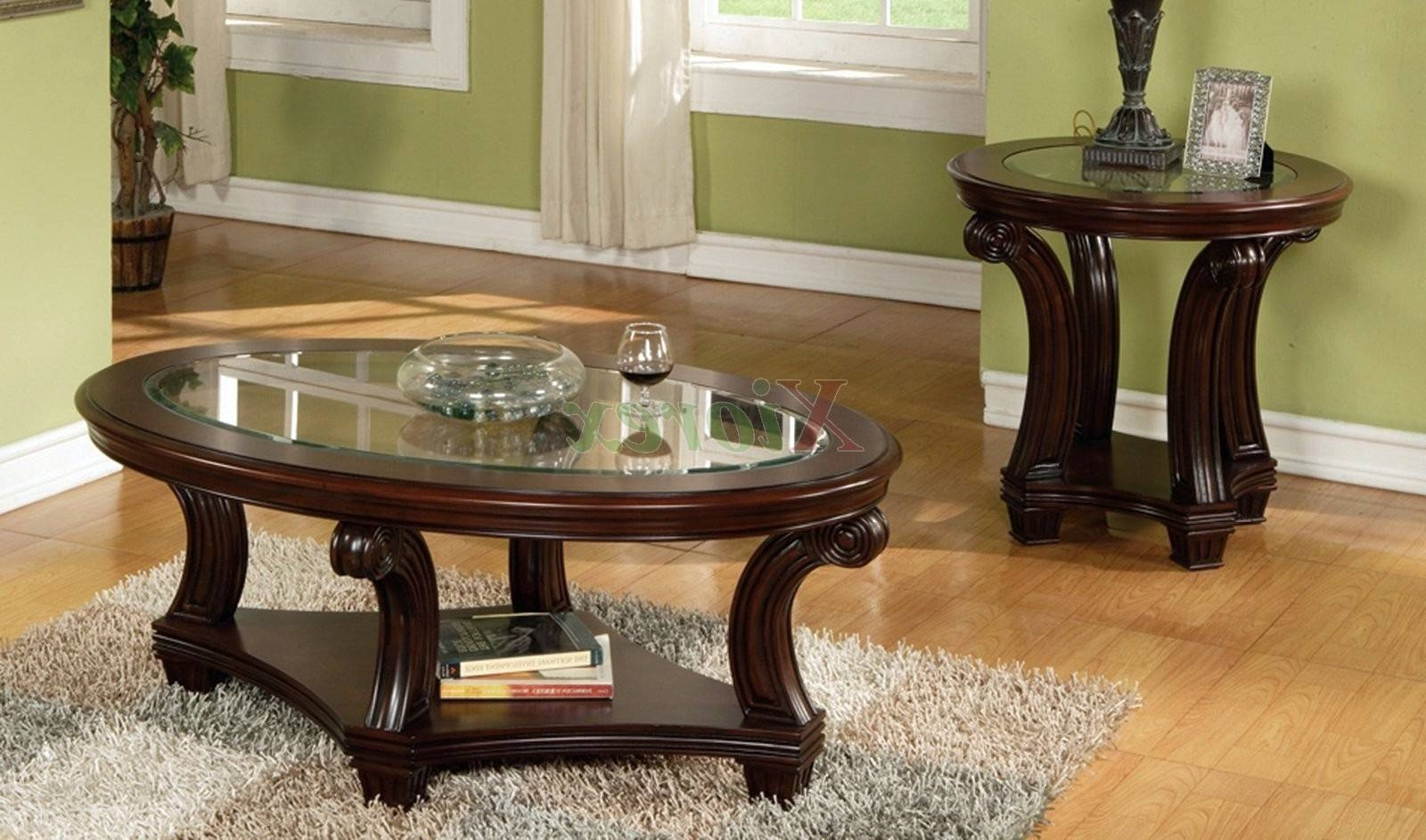 Confortable Dark Wood Coffee Table With Glass Top On Home Design for Dark Wood Coffee Tables With Glass Top (Image 10 of 30)