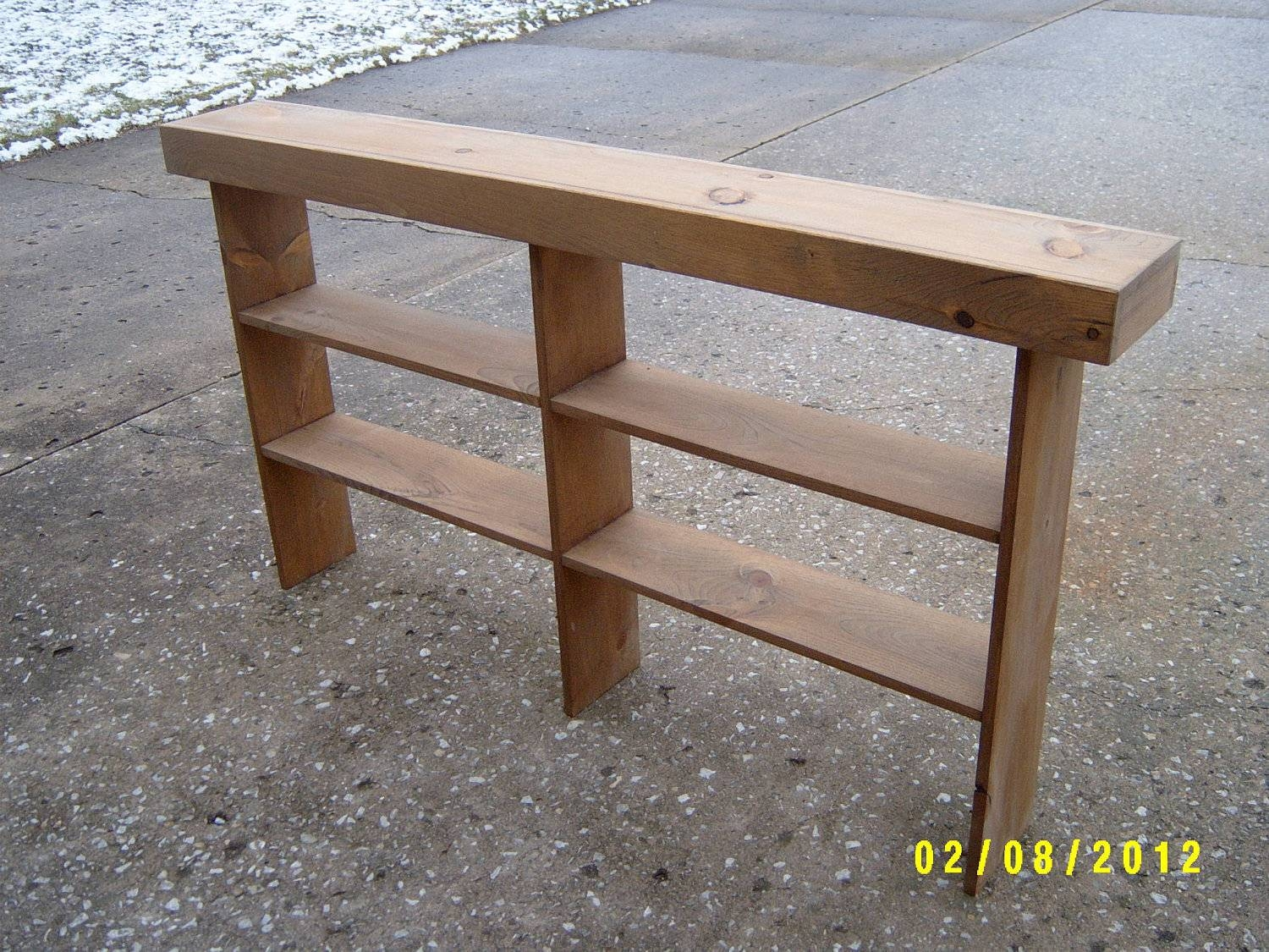 Console Table Sofa Table Entryway Table Narrow Recycled in Narrow Sofa Tables (Image 4 of 30)