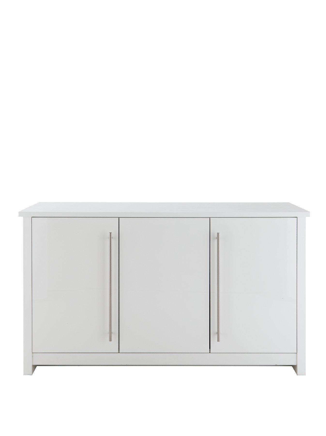 Consort Mono Ready Assembled Large Sideboard – Saleseeker Uk throughout Ready Assembled Sideboards (Image 11 of 30)