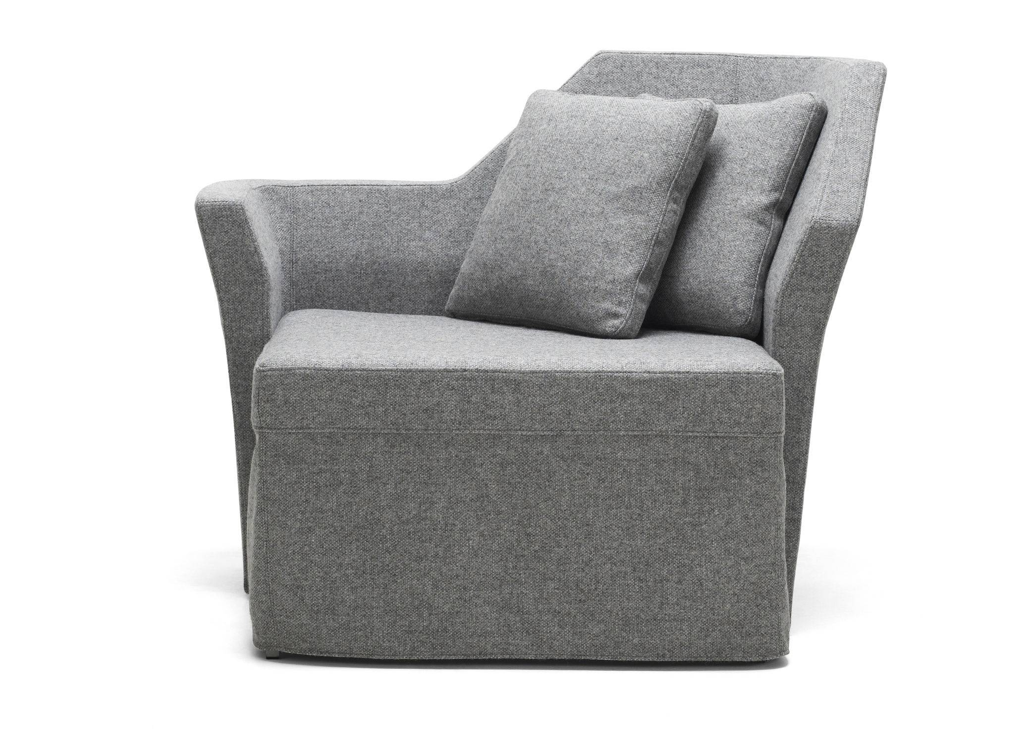 Contemporary Armchair / Textile / Bed - Collarjesper Ståhl regarding Compact Armchairs (Image 16 of 30)