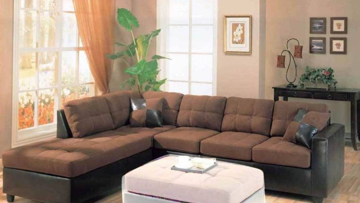 Contemporary Black Leather Sectional Sofa Left Side Chaise With Regard To Contemporary Black Leather Sectional Sofa Left Side Chaise (View 17 of 30)