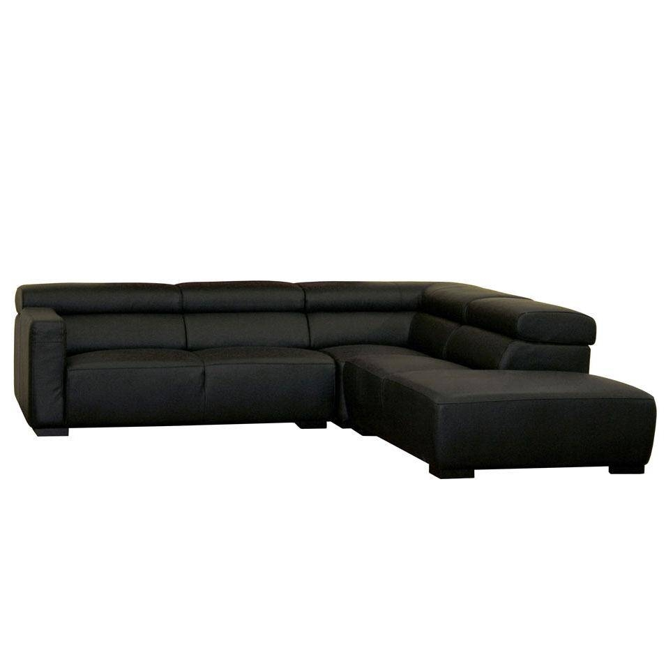 Contemporary Black Leather Sofa: Beautiful Pictures, Photos Of Intended For Contemporary Black Leather Sofas (View 10 of 30)