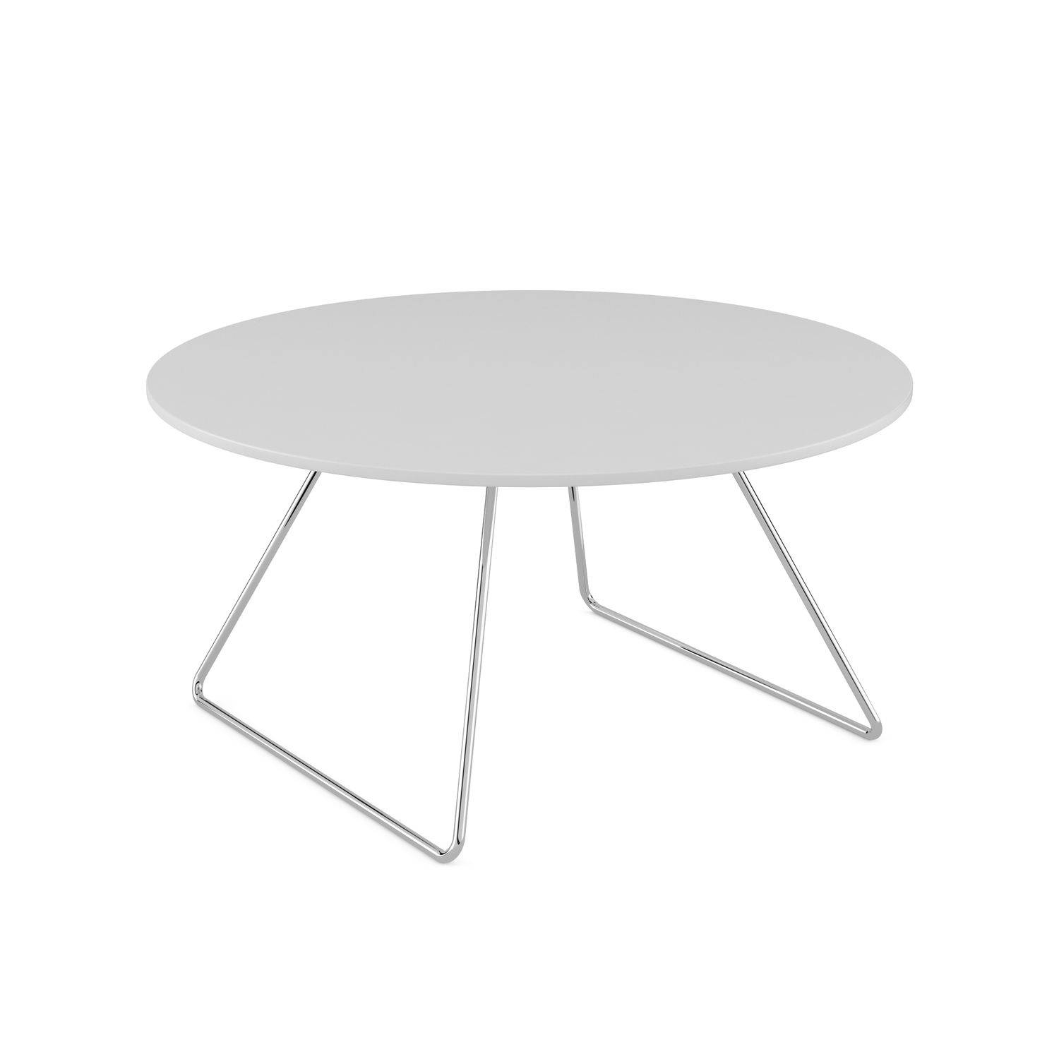 Contemporary Coffee Table / Beech / Round - Line - Komac pertaining to Round Beech Coffee Tables (Image 10 of 30)
