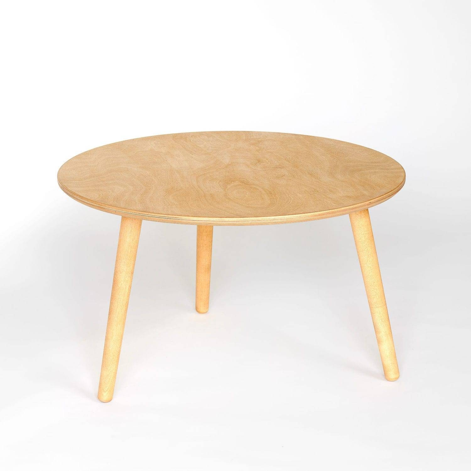 Contemporary Coffee Table / Birch / Plywood / Oiled Wood - Huh intended for Birch Coffee Tables (Image 6 of 30)