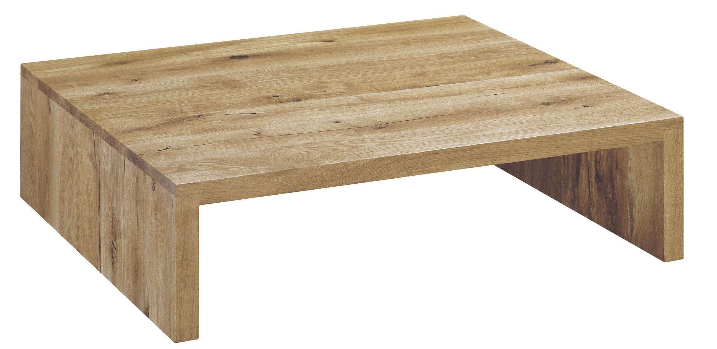 Contemporary Coffee Table / Oak / Oiled Wood / White Oak - Ct01 for White And Oak Coffee Tables (Image 13 of 30)