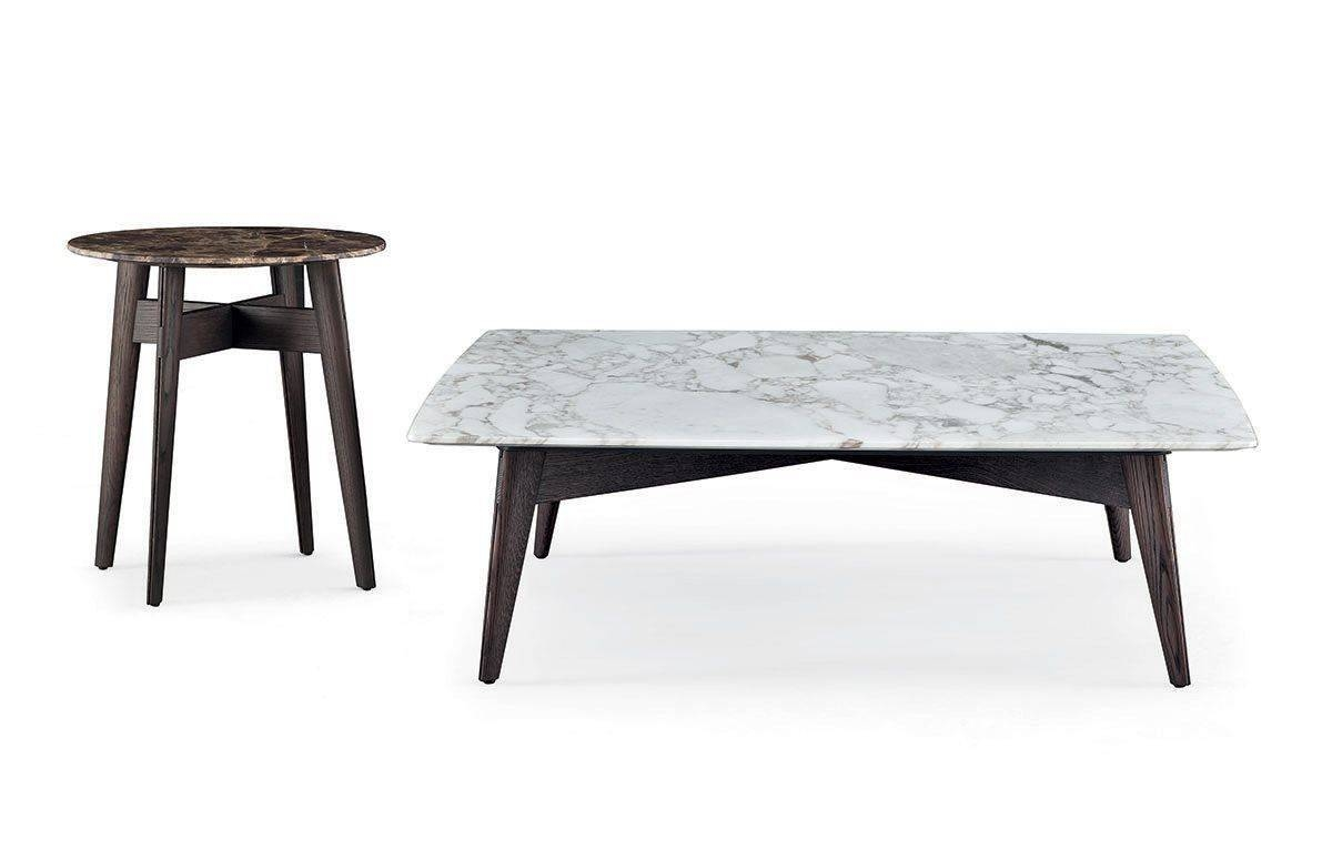 Contemporary Coffee Table / Solid Wood / Mdf / Marble - Bigger for Tribeca Coffee Tables (Image 9 of 30)