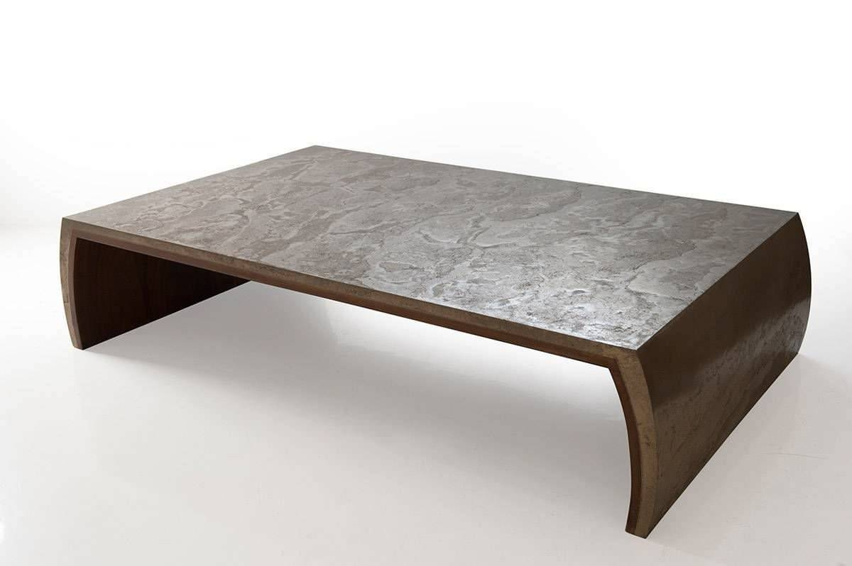 Contemporary Coffee Table / Solid Wood / Rectangular – Tsar – Ounovis For Coffee Tables Solid Wood (View 2 of 30)