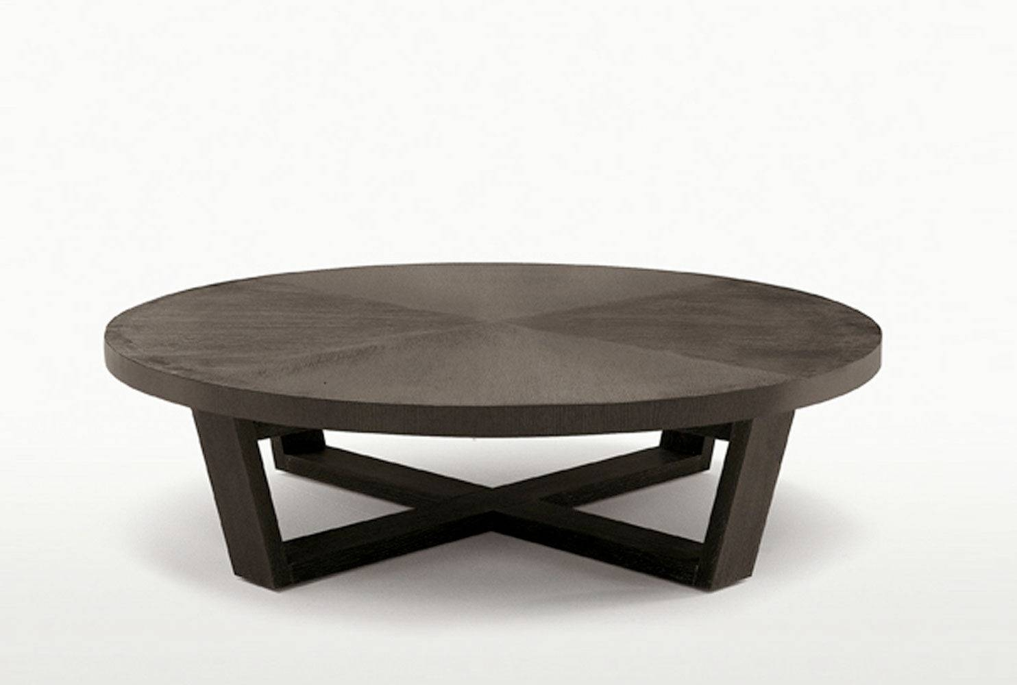 Contemporary Coffee Table / Wooden / Rectangular / Round - Xilos throughout Contemporary Coffee Table (Image 13 of 30)