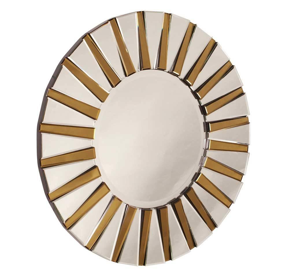 Contemporary Designer Round Mirror Hre 011 | Accent Mirrors regarding Designer Round Mirrors (Image 9 of 25)