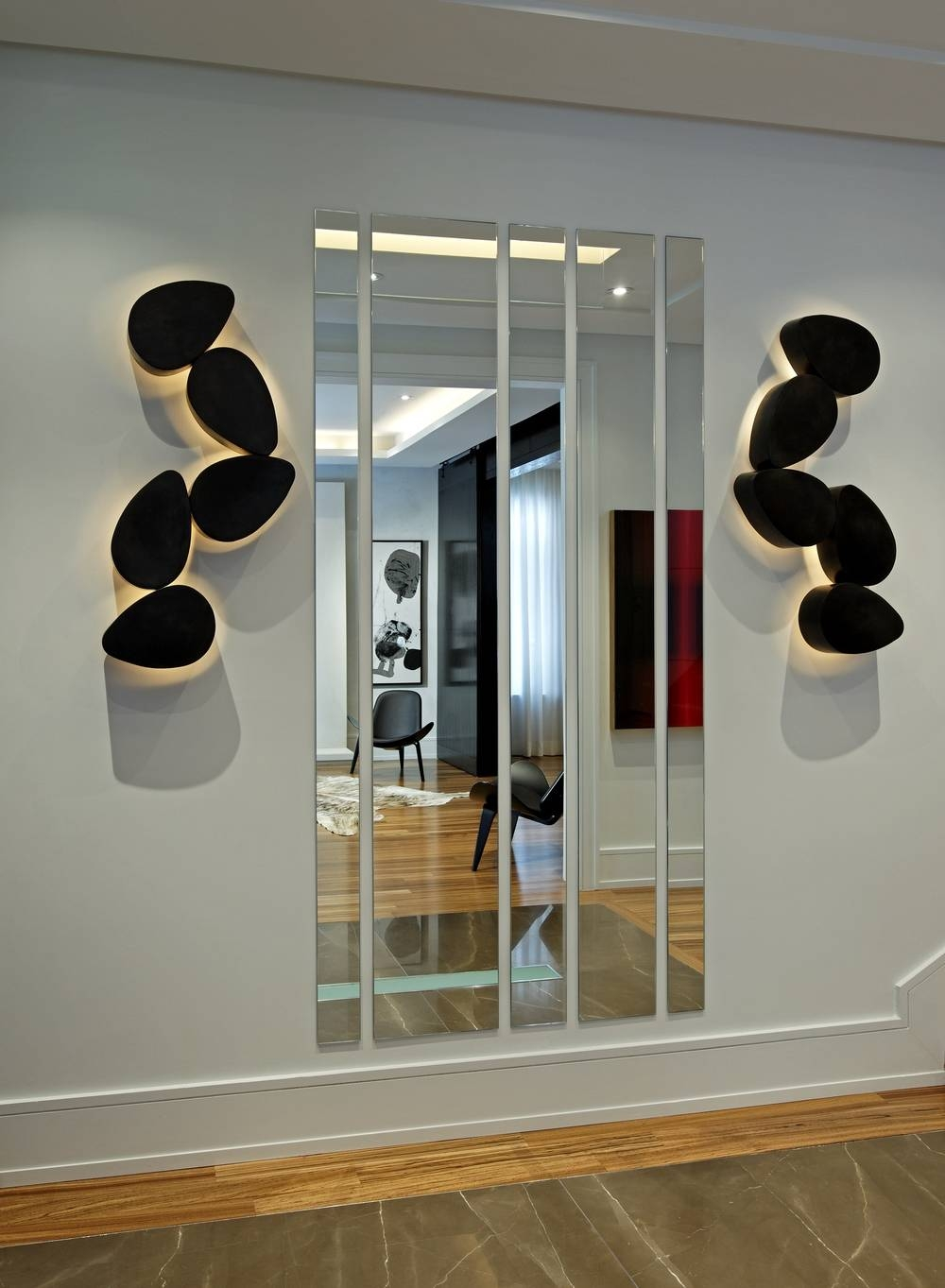 Contemporary — Douglas Design Studio within Contemporary Hall Mirrors (Image 15 of 25)