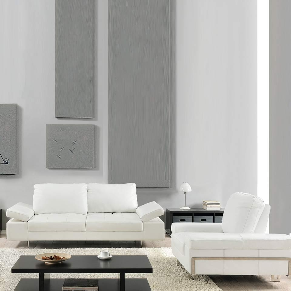 Contemporary Furniture | Nyc Furniture | Furniture Center Ny intended for White Modern Sofas (Image 6 of 30)