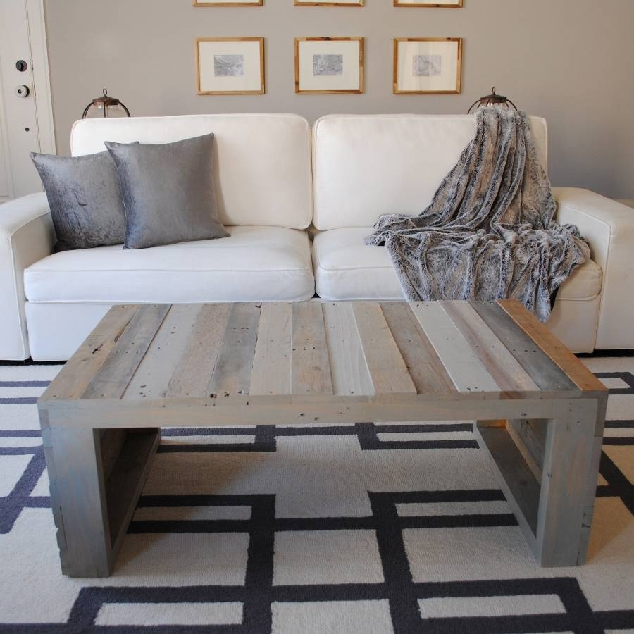 Contemporary Grey Wash Coffee Table — Sogocountry Design with Grey Wash Coffee Tables (Image 16 of 30)