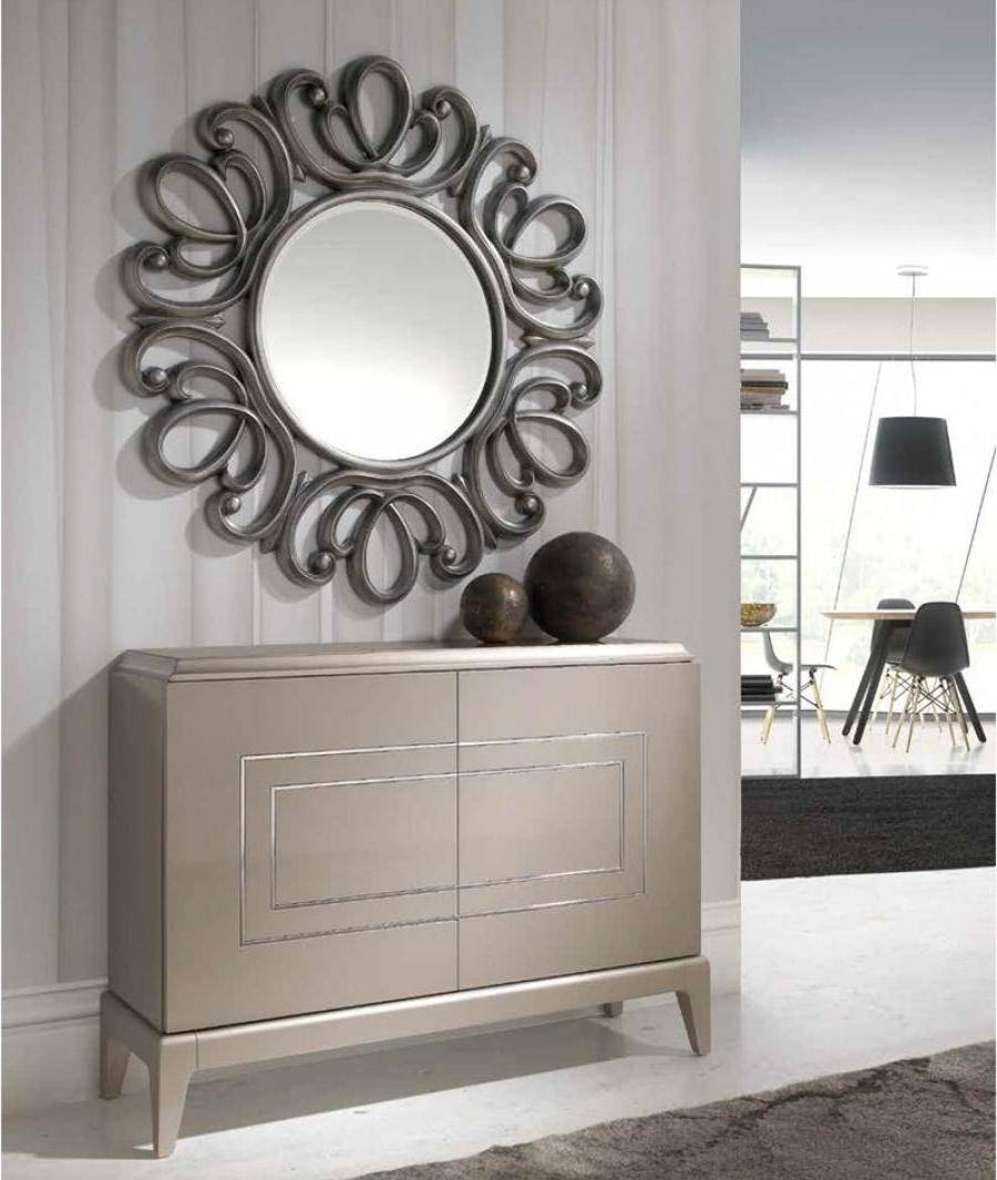 Contemporary Hall Mirrors #2433 pertaining to Contemporary Hall Mirrors (Image 11 of 25)