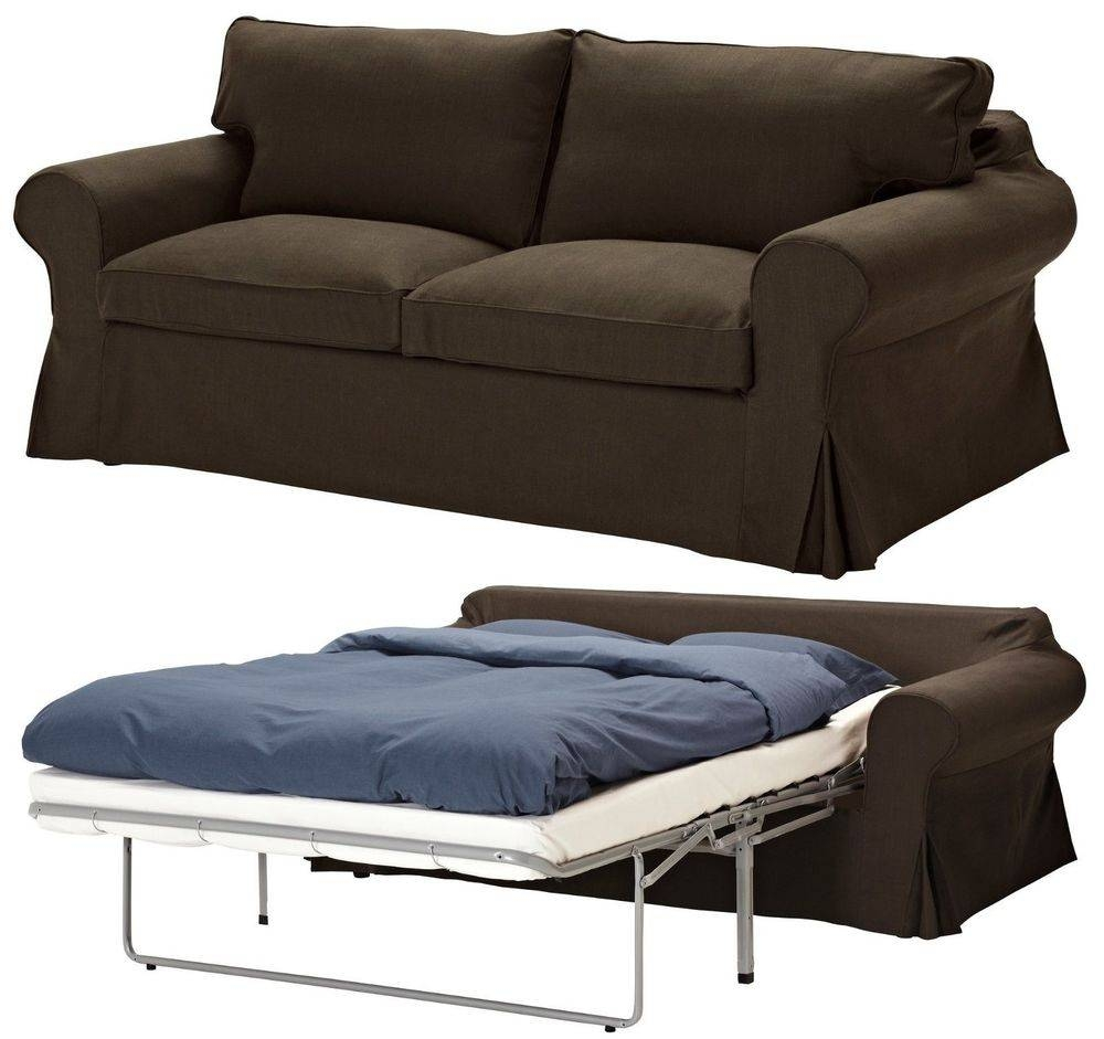 Contemporary Ikea Sleeper Sofa Microfiber Sofa Bed With Chaise in Cushion Sofa Beds (Image 5 of 30)