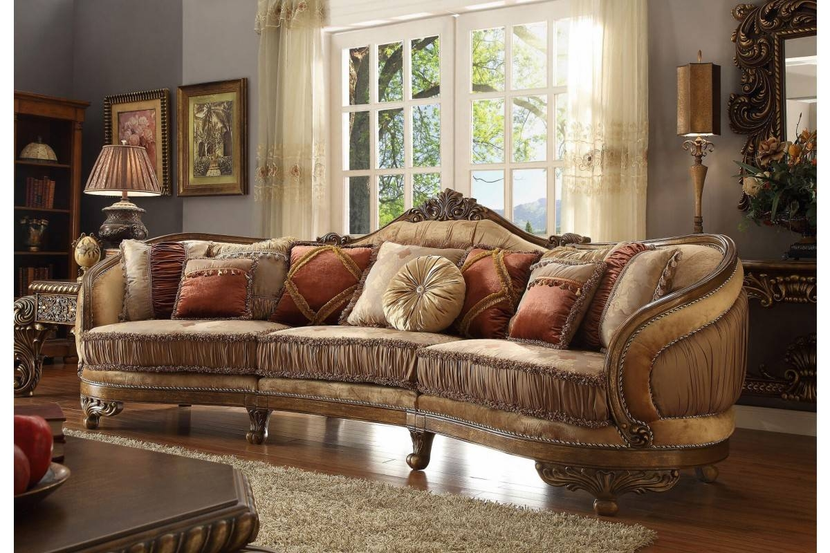 Contemporary & Luxury Furniture; Living Room, Bedroom,la Furniture for European Style Sofas (Image 5 of 30)