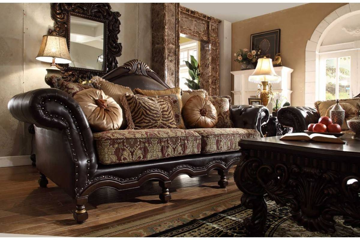 Contemporary & Luxury Furniture; Living Room, Bedroom,la Furniture for Traditional Fabric Sofas (Image 6 of 30)