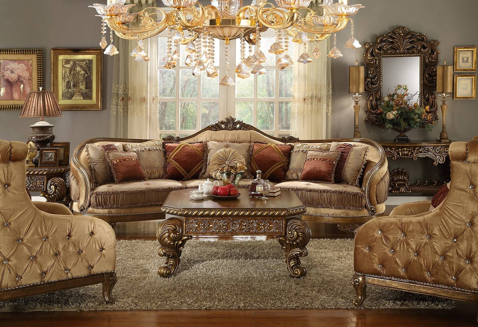 Contemporary & Luxury Furniture; Living Room, Bedroom,la Furniture intended for European Style Sofas (Image 6 of 30)