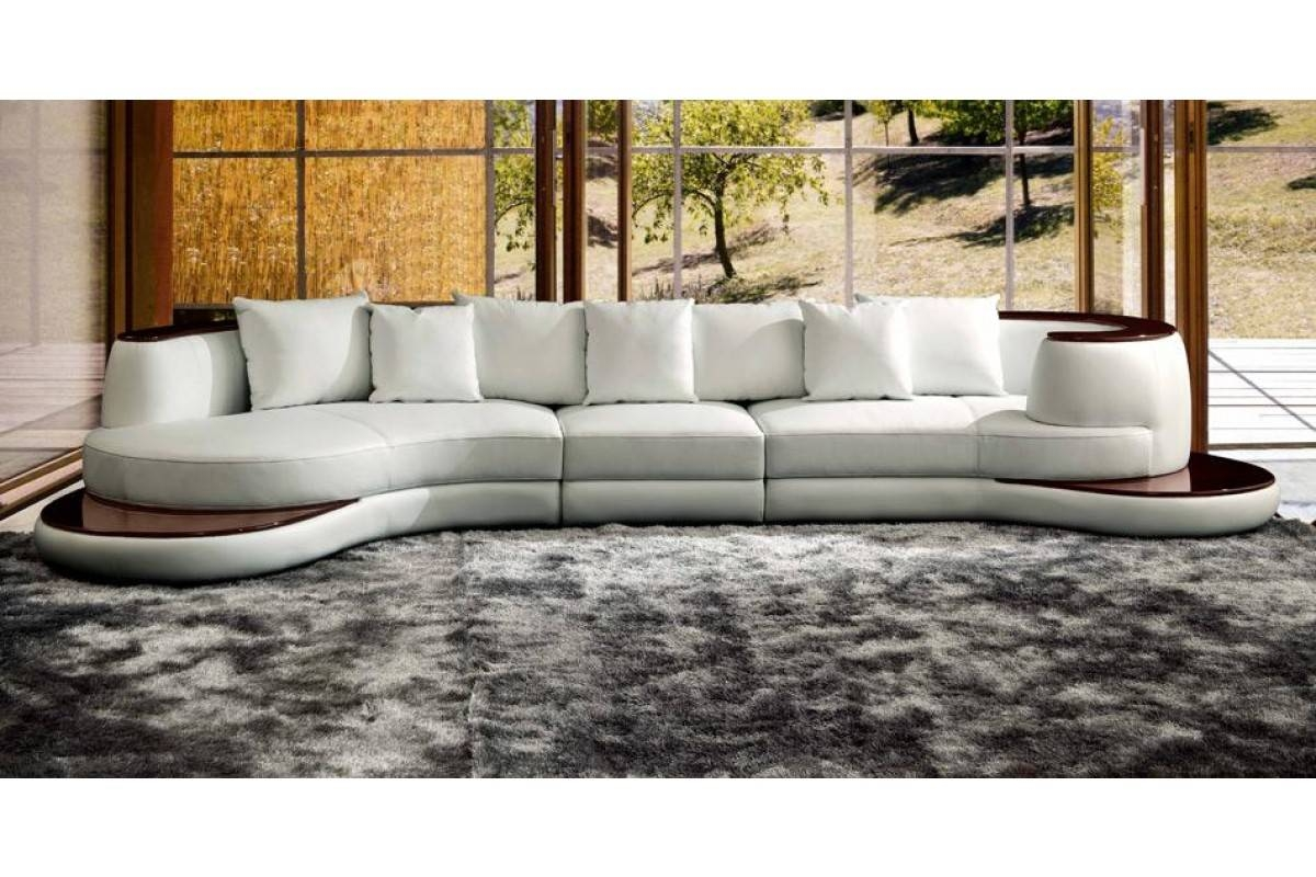 Contemporary & Luxury Furniture; Living Room, Bedroom,la Furniture pertaining to Rounded Sofa (Image 1 of 25)