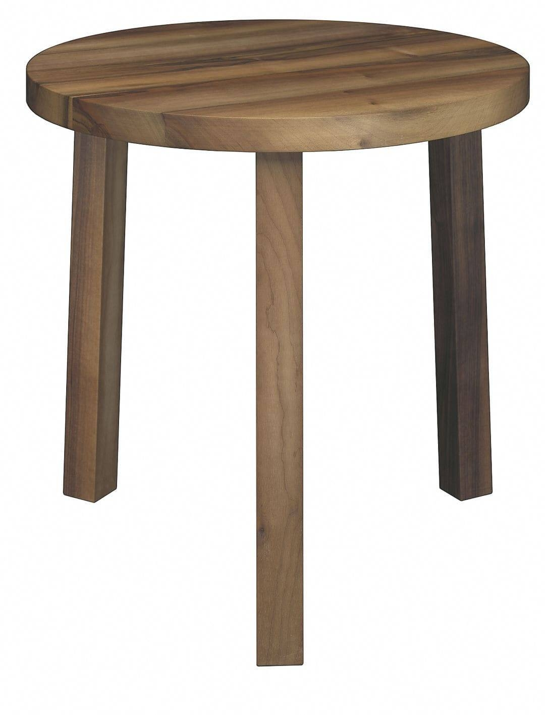 Contemporary Nesting Tables / Oak / Walnut / Oiled Wood – Pa03 With Stackable Coffee Tables (View 10 of 30)