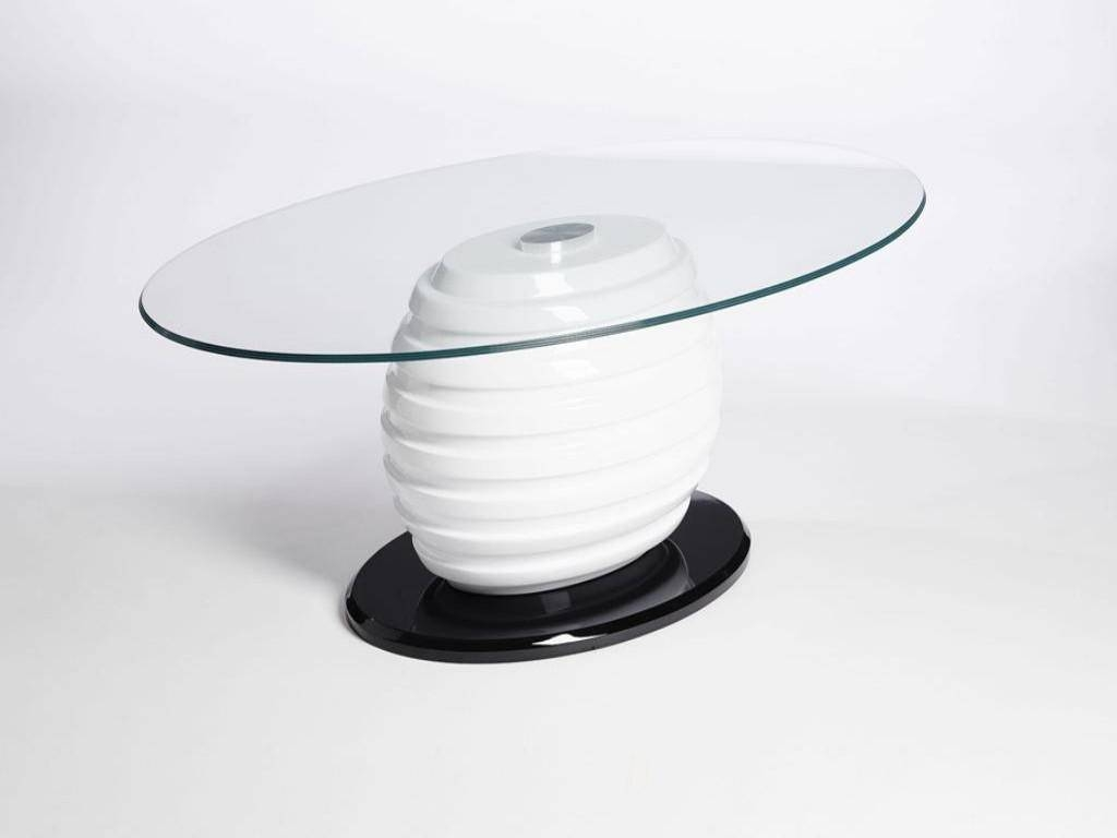 Contemporary Oval Coffee Table Ideas | Home Designjohn with regard to Black Oval Coffee Table (Image 14 of 30)