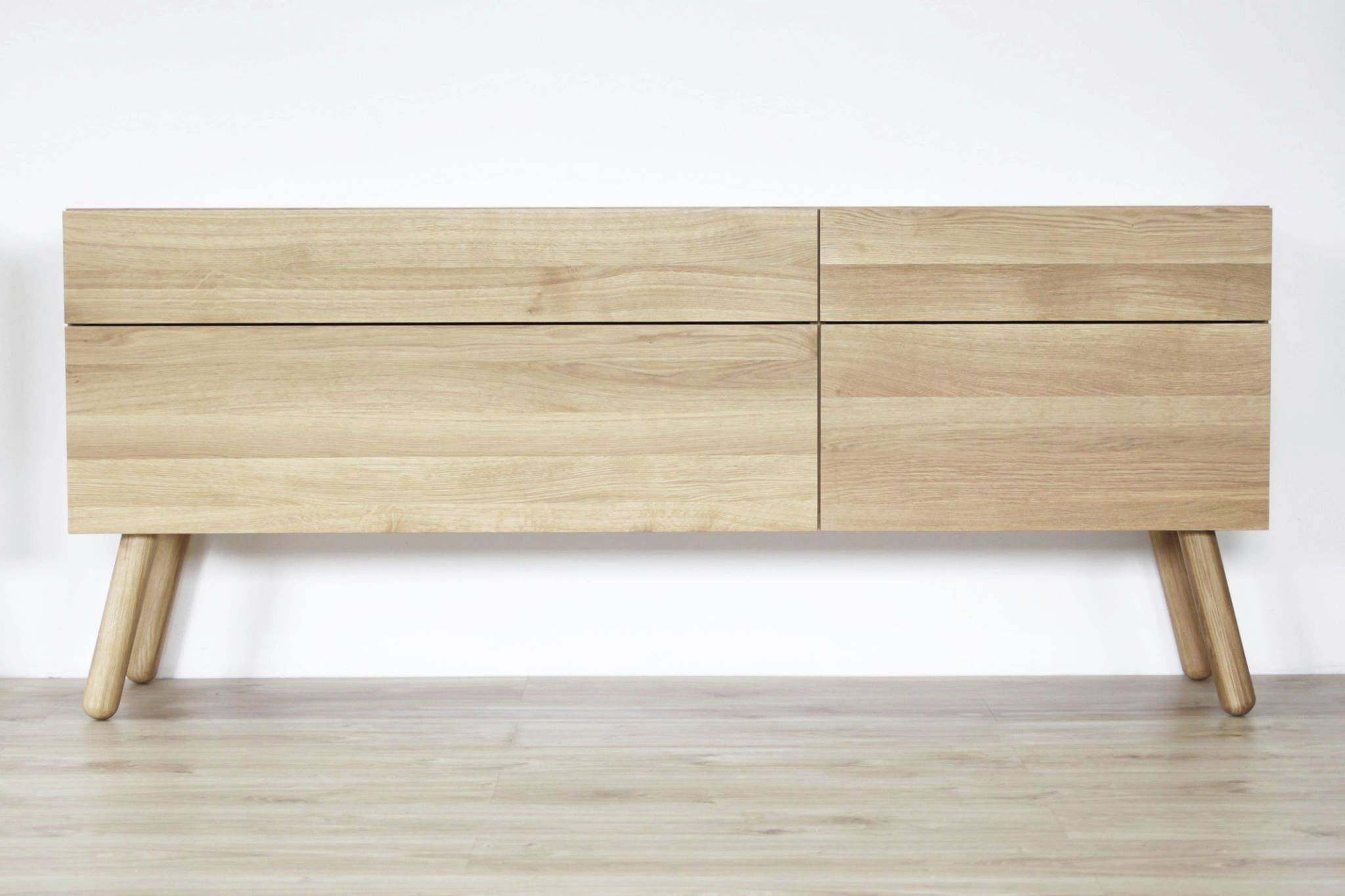 Contemporary Sideboard / Oak / Plywood - Ox - Miloni Deutschland with regard to Contemporary Wood Sideboards (Image 3 of 30)