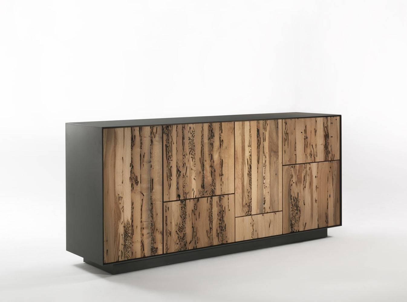 Contemporary Sideboard / Oak / Walnut / Metal   Rialto Modulo For Metal Sideboards (Photo 18 of 30)