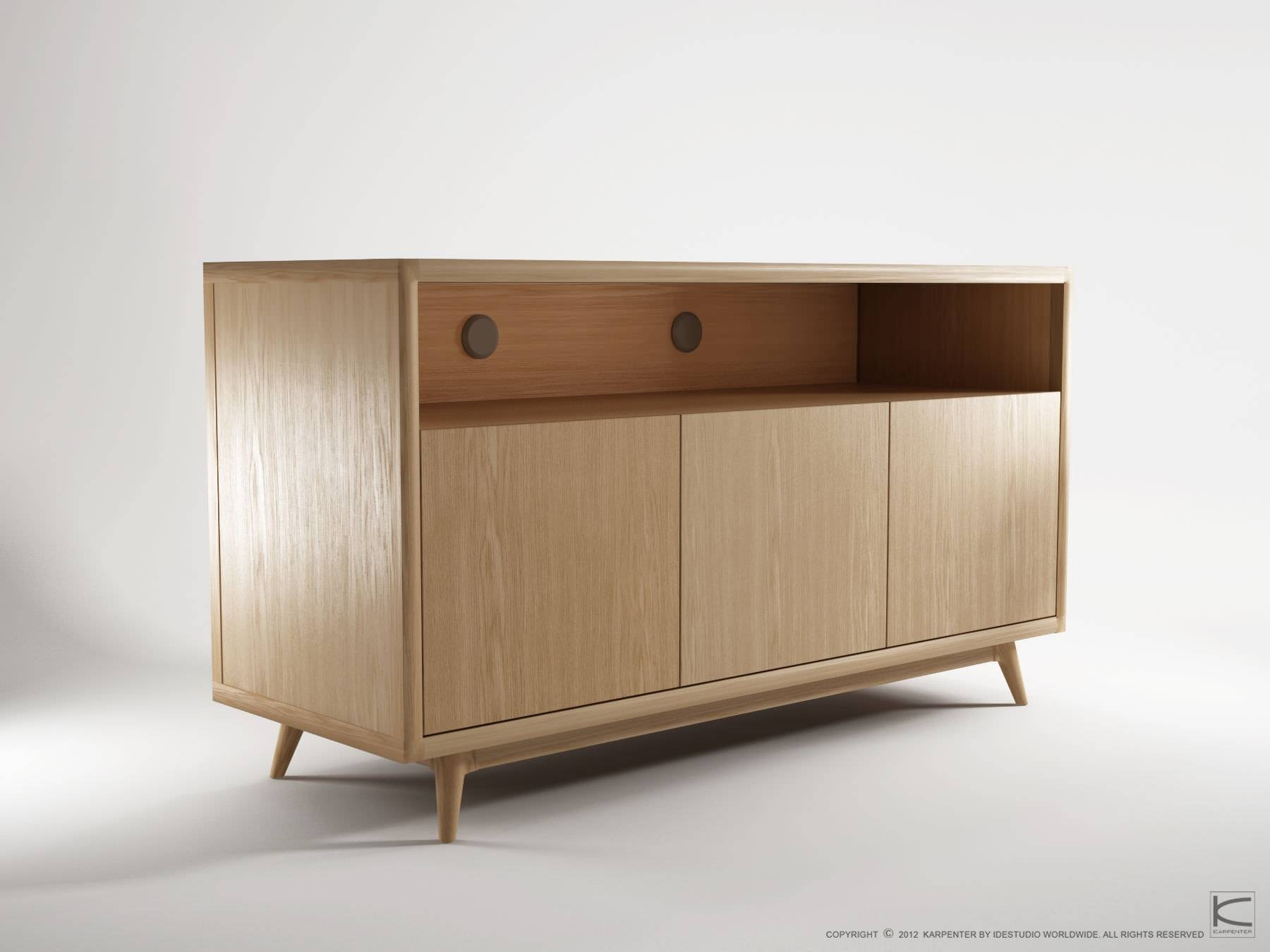 Featured Photo of Contemporary Oak Sideboards