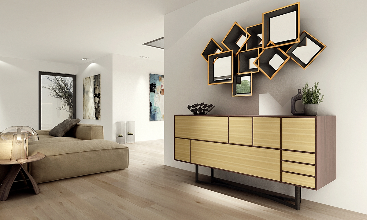 Contemporary Sideboards Inspiredmusic in Contemporary Sideboards (Image 7 of 30)