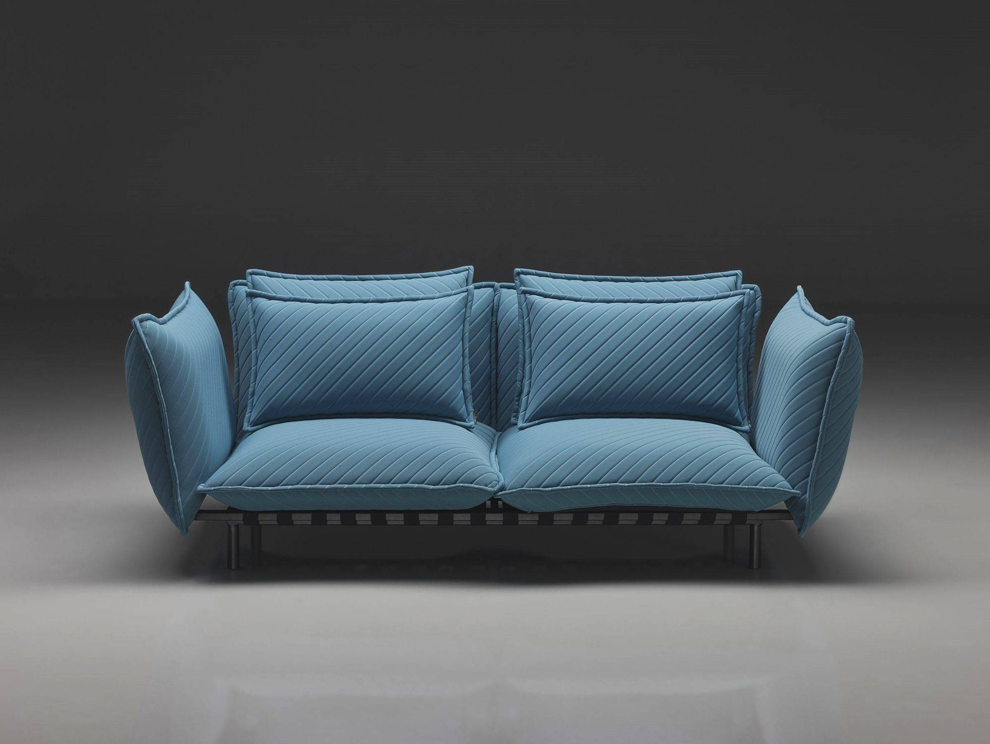 Contemporary Sofa / Fabric / 2-Seater / With Removable Cover with Sofa With Removable Cover (Image 5 of 30)