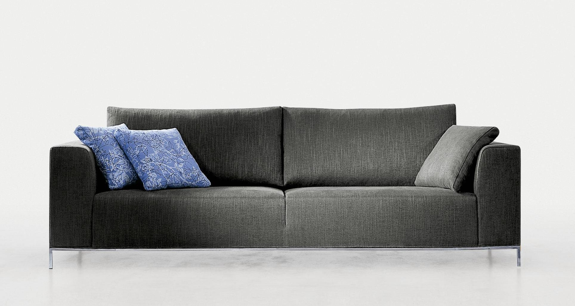 Contemporary Sofa / Fabric / 2-Seater / With Removable Cover with Sofa With Removable Cover (Image 4 of 30)