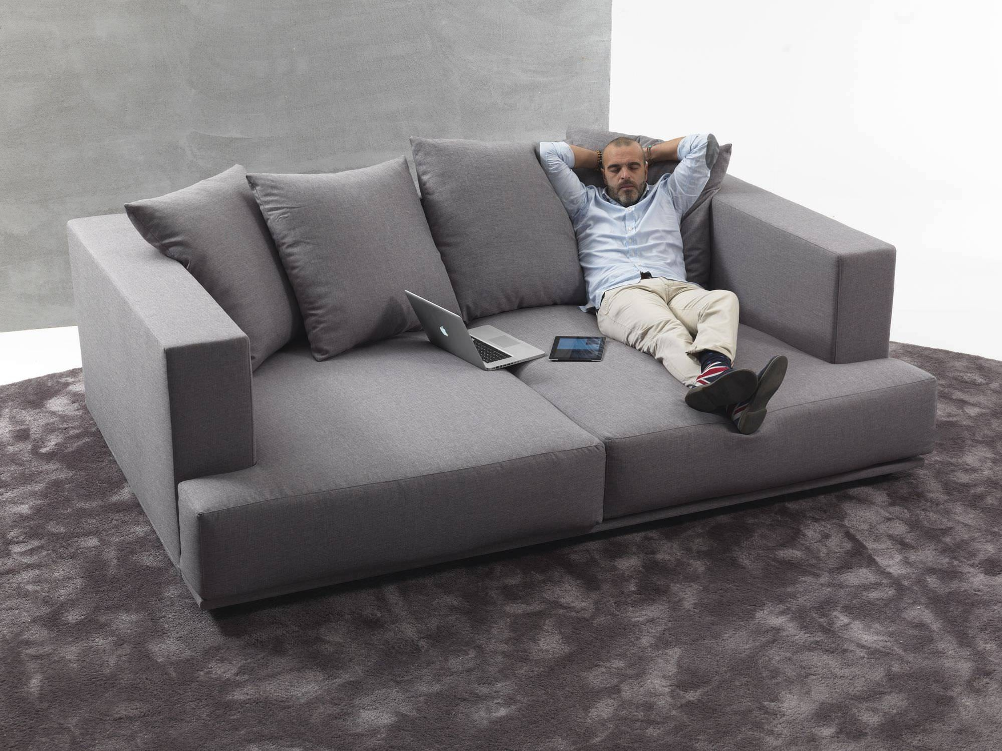 Contemporary Sofa / Fabric / 2-Seater / With Washable Removable with Washable Sofas (Image 3 of 30)
