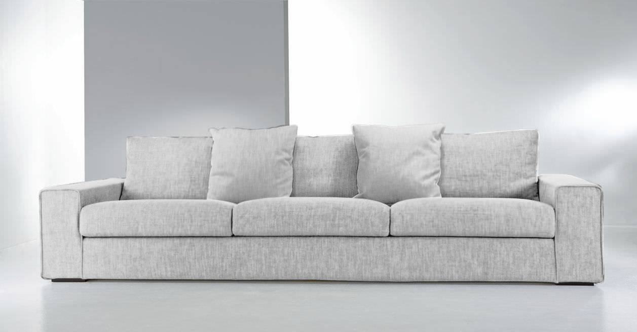 Contemporary Sofa / Fabric / 3-Seater / With Washable Removable inside Sofas With Removable Covers (Image 2 of 30)