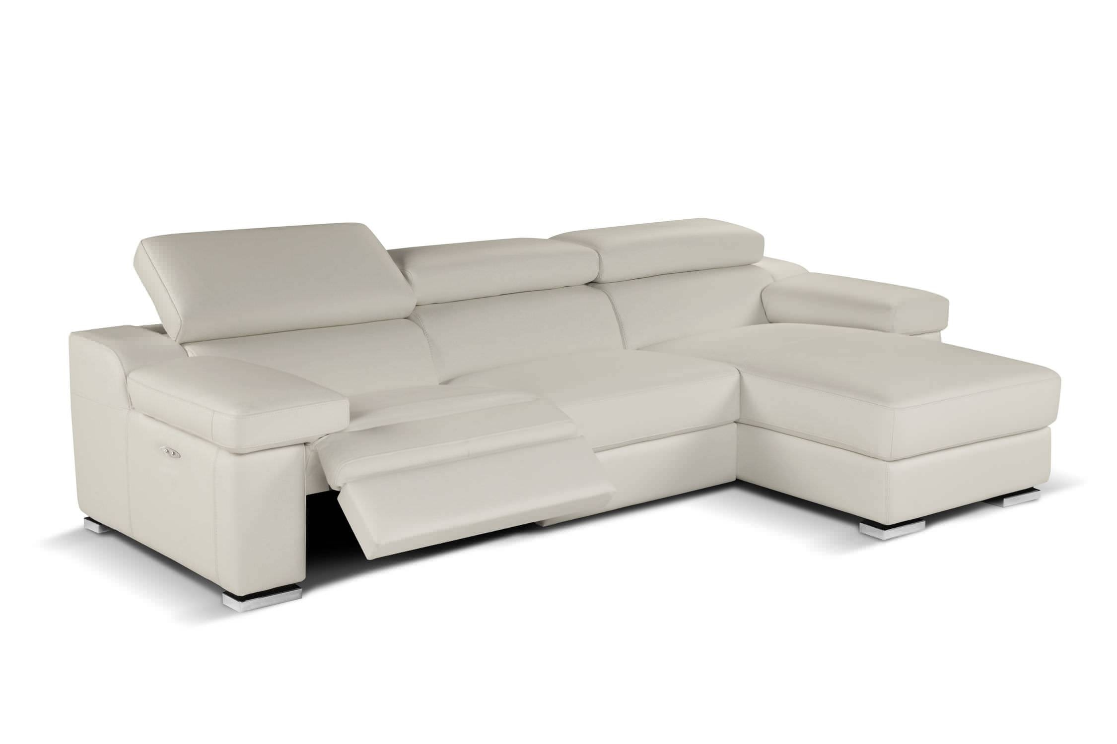 Contemporary Sofa / Leather / 2-Seater / Reclining - Rebecca inside Modern Reclining Leather Sofas (Image 3 of 30)
