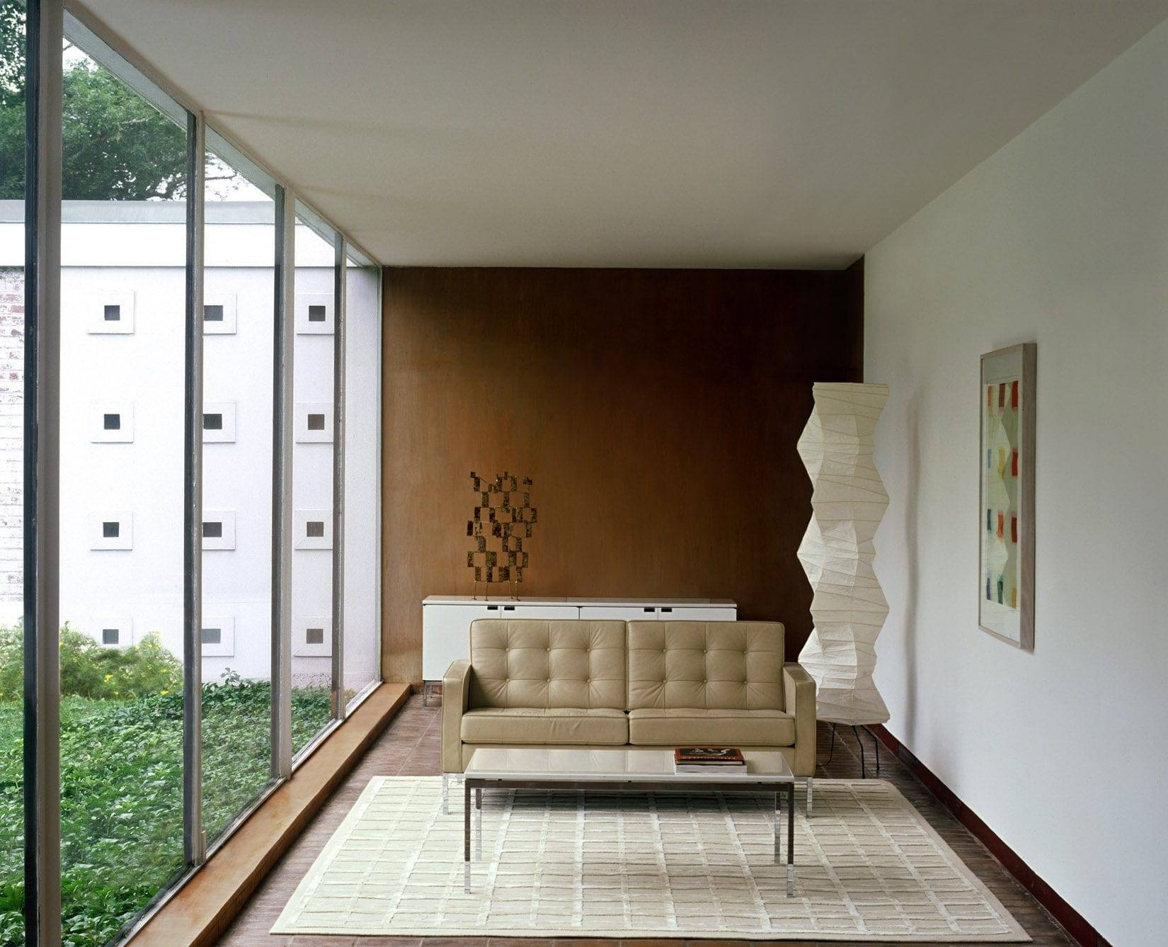Contemporary Sofa / Leather / Fabric /florence Knoll - Knoll with Florence Knoll Fabric Sofas (Image 5 of 25)