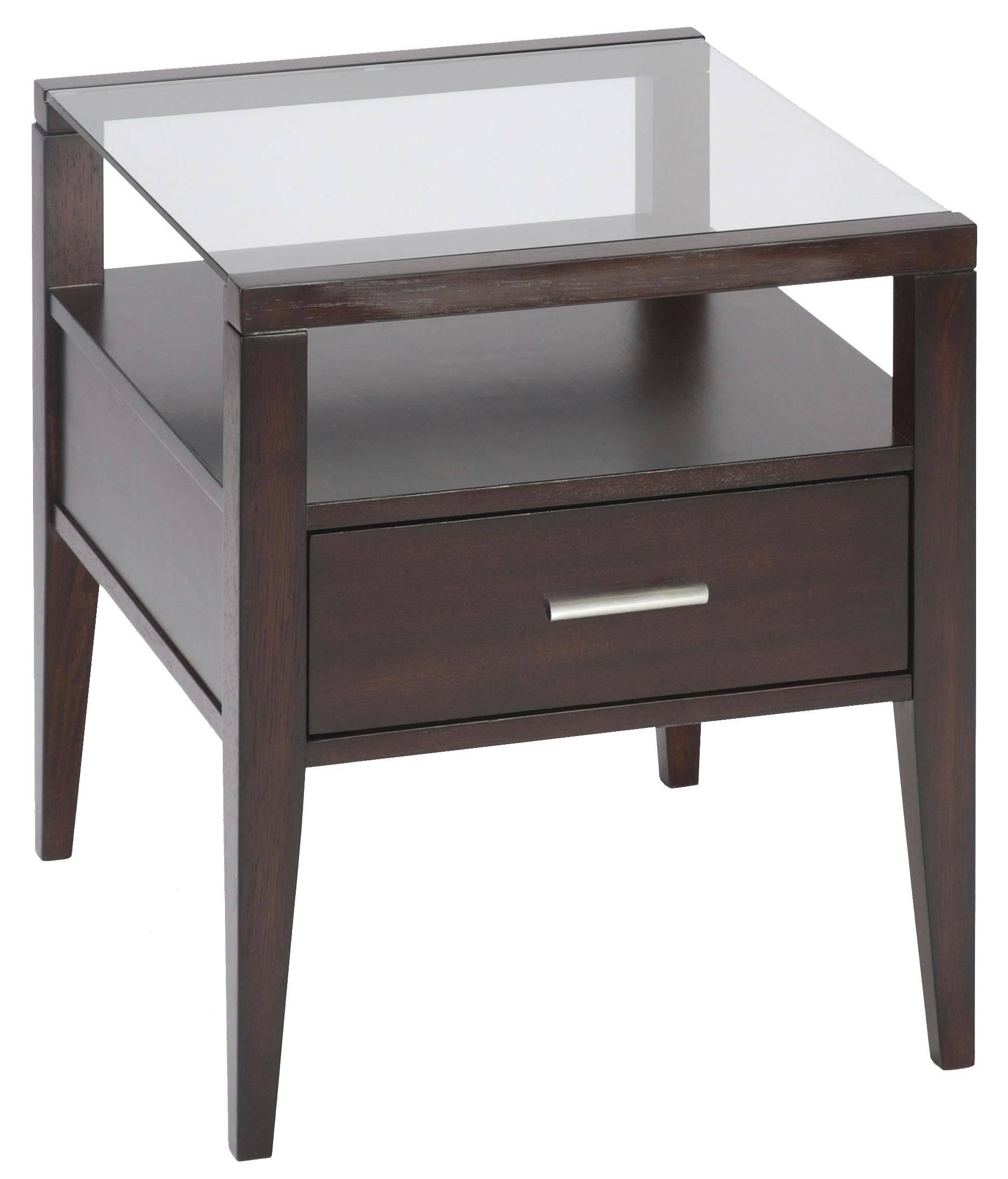 Contemporary Sofa Table With Two Drawersmagnussen Home | Wolf throughout Sofa Table Drawers (Image 9 of 30)
